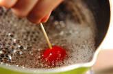 プチトマトのあめがけの作り方3