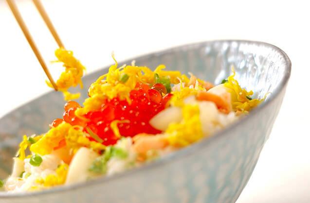 鮭の親子ご飯の作り方の手順5