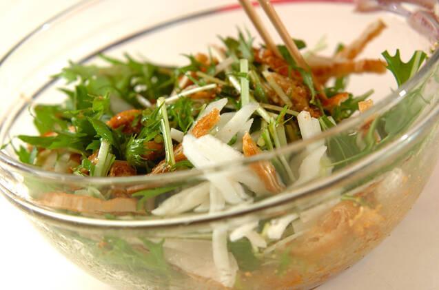 京のおばんざい 梨と水菜のサラダの作り方の手順5