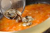 カキのトマトリゾットの作り方8