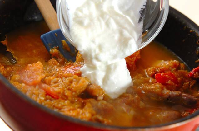 スパイスから作るチキンカレーの作り方の手順9