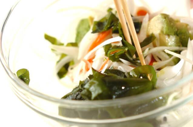 豆腐ドレッシングのアボカドサラダの作り方の手順6