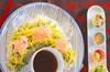 七夕梅おろし素麺の作り方の手順