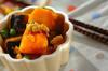 カボチャのカレーそぼろ煮の作り方の手順