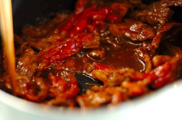 ユッケジャンスープの作り方の手順4