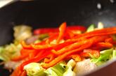 焼きそばのお弁当の作り方2