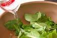 青菜の塩炒めの作り方の手順4