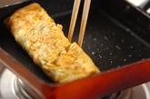切干し大根とミツバ入り卵焼きの作り方1