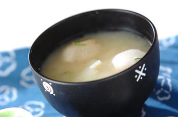 長芋の白みそ汁