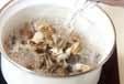 貝ときのこのスープの作り方1