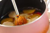 サツマイモとワカメのみそ汁の作り方2