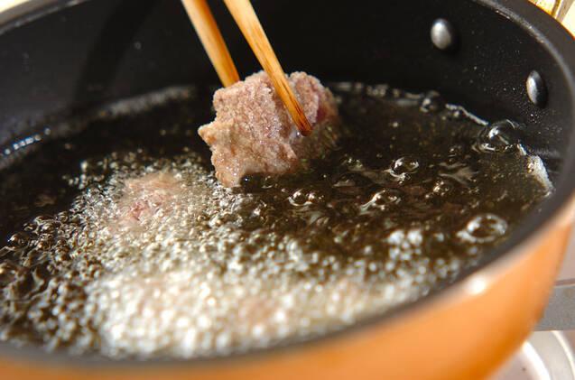 砂肝の五香粉揚げの作り方の手順6