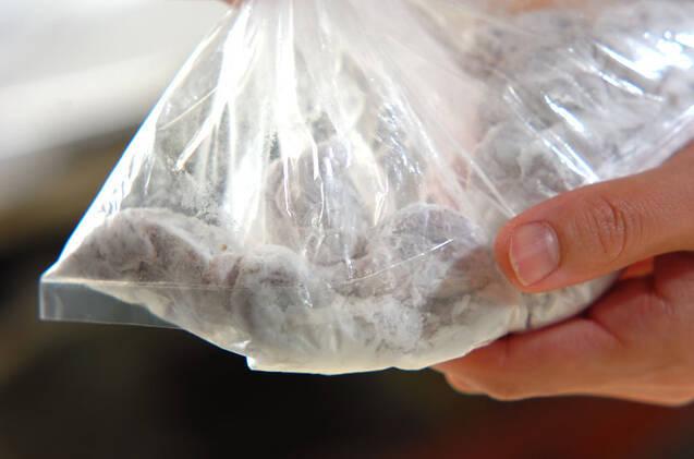 砂肝の五香粉揚げの作り方の手順5