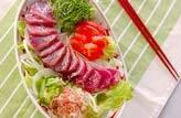 カツオのサラダ