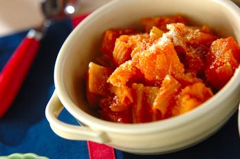 マカロニ入りトマト煮