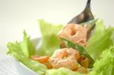 むきエビのナッツサラダの作り方3