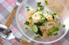 素麺サラダの作り方の手順