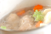 カブと鶏のポトフの作り方1