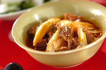 砂肝のコチュジャン煮