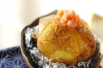 明太子バターのせベイクドポテト