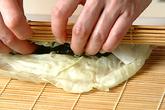 キャベツのワカメ巻きの作り方3