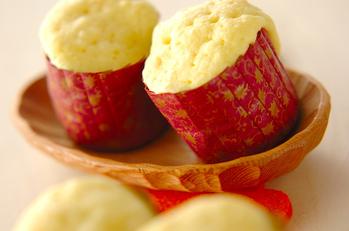 ミカン風味蒸しパン