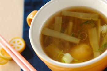 ウドのスープ