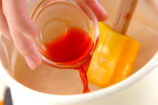 イチゴのパンナコッタの作り方の手順4