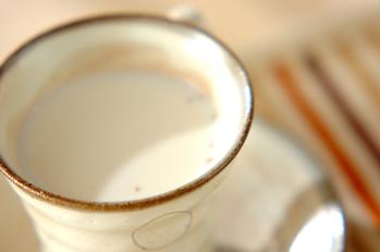 ホットジャムミルク