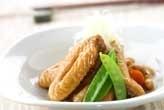 鶏肉と大豆のこっくり煮