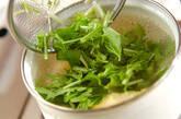 水菜のふんわりかきたま汁の作り方6
