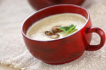 カキのポタージュスープ