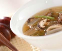 大根とニラのスープ