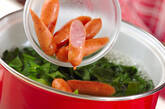 ホウレン草のスープの作り方1