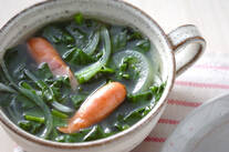 ホウレン草のスープ