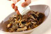 乾燥予防・レバーとキノコのオイル煮の作り方8