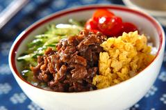 カラフル焼き肉丼