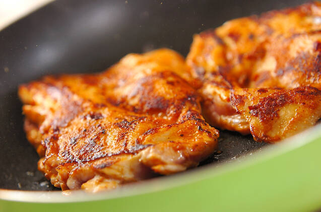 鶏肉のカレー風味焼きの作り方の手順5