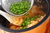 エビのケチャップ炊き込みご飯の作り方7