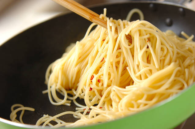豆腐のクリームゴマパスタの作り方の手順5