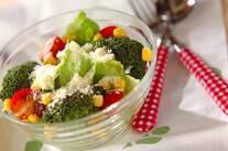 焼きブロッコリーのサラダ