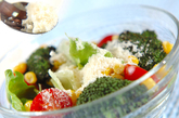焼きブロッコリーのサラダの作り方2