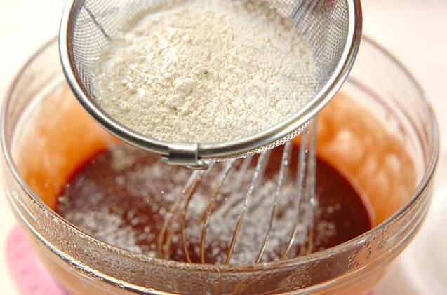 フライパンでガトーショコラの作り方の手順5