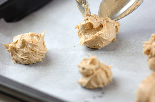 黒糖ドロップクッキーの作り方の手順6