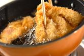サクサクチキンカツ丼の作り方2