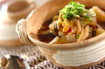白菜とシジミのみそチゲ
