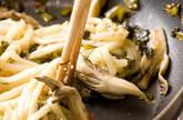 高菜マイタケ焼きうどんの作り方3
