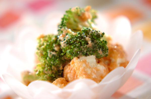 クリームチーズの明太子和えの画像