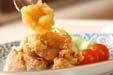 揚げ鶏おろしソースの作り方3