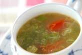 オクラのスープ